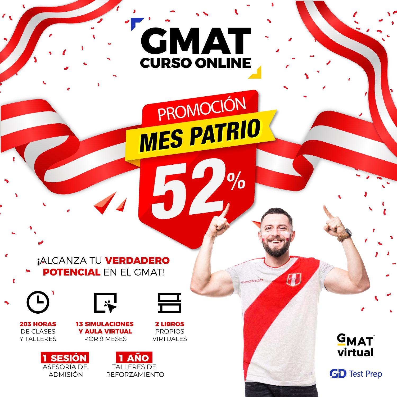 52% DSCTO GMAT GRUPAL